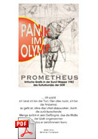 Flyer Vernissage Prometheus